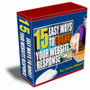 Thumbnail 15 Ways To Boost Your Website Response with MRR