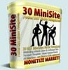 Thumbnail 30 Hot New Minisite Templates with MRR