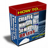 Thumbnail How To Create A Minisite in 30 Minutes Or Less with MRR