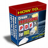 Thumbnail How To Create Professional PDF For Free with MRR