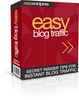 Thumbnail Easy Blog Traffic includes Master Resale Rights