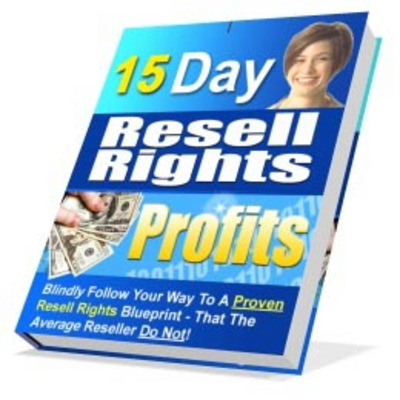 Pay for 15 Day Resell Rights Profits with MRR