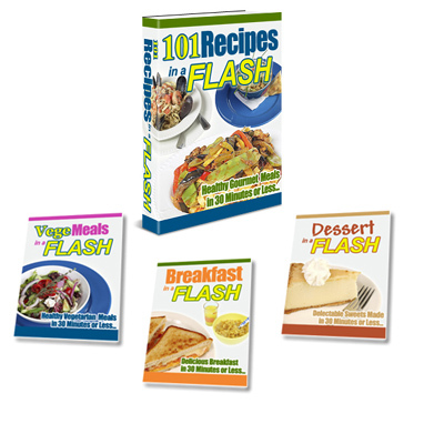 Pay for 101 Recipes In A Flash with MRR