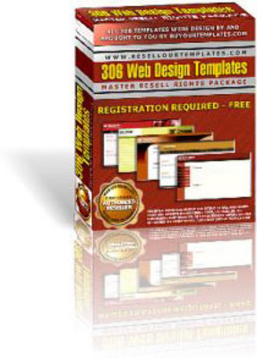 Pay for 306 Web Design Templates with MRR