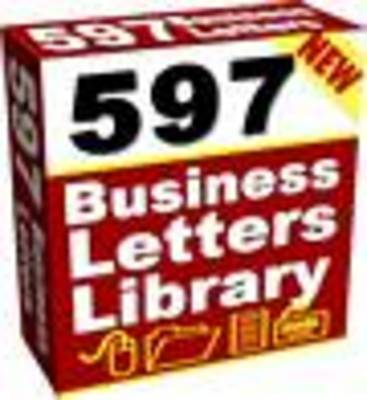 Pay for 597 Ready To Use Sales Letters and Business Forms MRR
