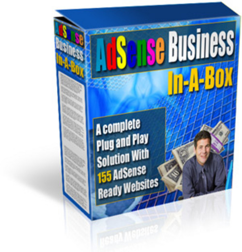 Pay for Adsense Business In A Box with MRR Website Scripts