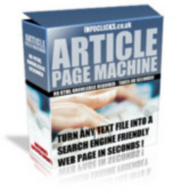 Pay for Article Page Machine with MRR