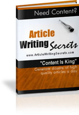 Pay for Article Writing Secrets with MRR