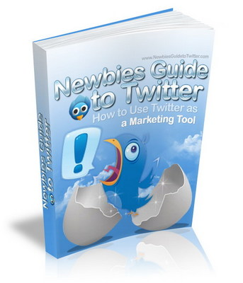 Pay for Newbies Guide To Twitter, Twitter As Marketing Tool with MRR