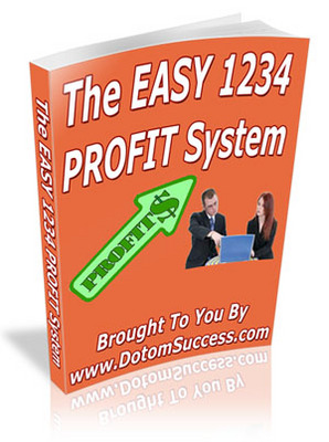 Pay for The Easy 1234 Profit System w/Master Resale Rights