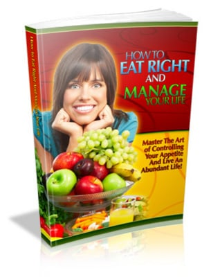 Pay for How To Eat Right and Manage Your Life with MRR