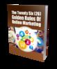 Thumbnail Golden Rules Of Online Marketing