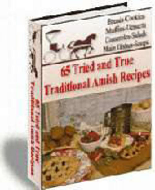 Pay for 65 amish recipes