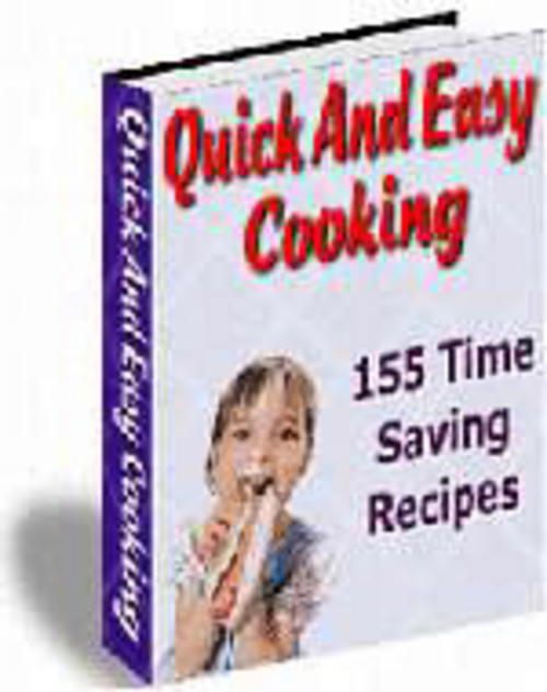 Pay for 155 Quick and Easy Cooking Recipes
