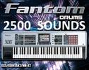 Thumbnail Fantom 2500 DRUMS & Classic Roland Sounds Kit Samples mpc