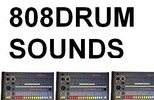 Thumbnail Roland 808 DRUM Sounds Kit Samples tr-808 Vintage Drum Machine Logic Reason FL Studio Fruity Loops