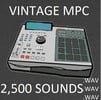Thumbnail Akai MPC Drum Sounds 2500  Vintage Samples Kit pgm wav