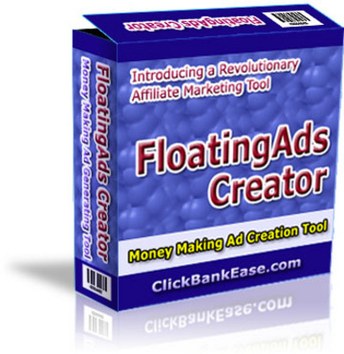 Pay for FloatingAds Creator Money Making Affiliate Marketing Tool