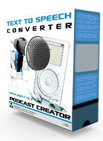Pay for Text To Speech Converter Podcast Creator Software