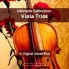 Thumbnail Viola Trios Sheet Music Collection