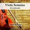 Thumbnail Viola Sonatas Sheet Music Ultimate Collection