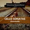 Thumbnail Cello Sonatas Sheet Music Collection (Downloads)