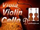Thumbnail Viola  Violin and Cello Sheet Music Collection