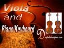 Thumbnail Viola and Piano or Keyboard Sheet Music Collection