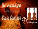 Thumbnail Viola in Trio or Quartet with Basso Continuo Partituras