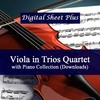 Thumbnail Viola in Trio or Quartet with Piano Sheet Music Collection