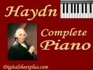 Thumbnail HAYDN Complete Piano Sonatas partituras collection en formato pdf