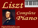 Thumbnail LISZT Complete Piano Sheet Music Collection in pdf format