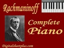 Thumbnail Rachmaninoff Complete Piano Sheet Music Collection in pdf