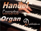 Thumbnail HANDEL ORGAN CONCERTOS sheet music