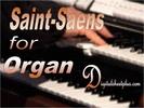 Thumbnail SAINT-SAENS for ORGAN sheet music