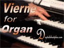 Thumbnail VIERNE for ORGAN sheet music