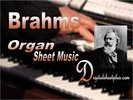 Thumbnail  Brahms - 11 Chorale Preludes  Op 122 for Organ sheet music