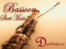 Thumbnail Bach I.S. -  Aria for bassoon and piano partituras