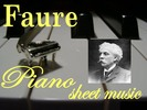 Thumbnail Faure for Piano Partituras Collection en formato pdf