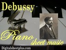 Thumbnail Debussy Piano Partituras Collection