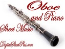 Thumbnail Oboe and Piano partituras collection