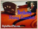Thumbnail Beethoven String Quartets Complete Sheet Music Collection in pdf format