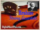 Thumbnail Brahms String Quartets Sheet Music Collection in pdf format