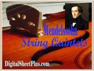 Thumbnail Mendelssohn String Quintet No 2 in B flat Op 87  parts sheet music in pdf format