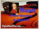 Thumbnail Mozart  Piano Quartets and Quintets partituras collection