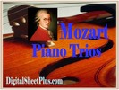Thumbnail Mozart Piano Trios sheet music collection