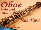 Thumbnail Oboe Solo and Studies Sheet music collection