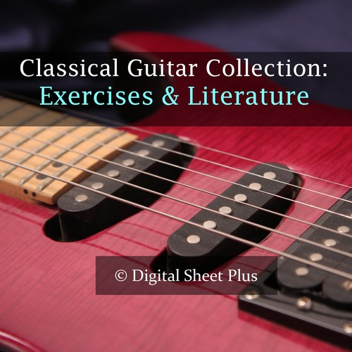 Pay for Classical Guitar Exercises and Literature sheet music collection