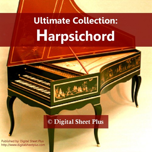 Pay for Ultimate Collection: HARPSICHORD Sheet Music Complete