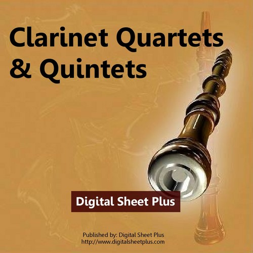 Pay for CLARINET QUARTETS & QUINTETS Sheet Music Collection